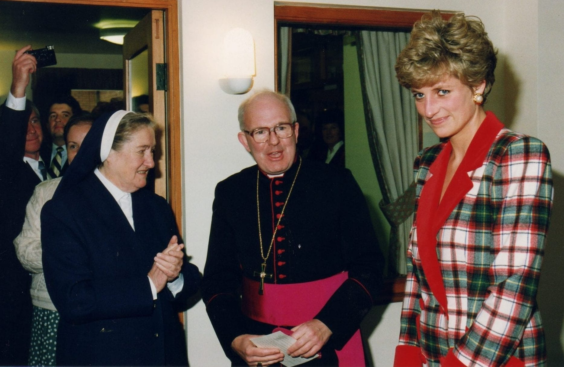 Sister Aloysius Archbishop and Princess Diana