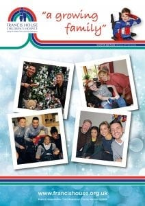 Francis House Winter Newsletter 2018 Front Cover